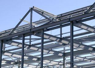 На фото металлоконструкции, изготовленные на нашем производстве