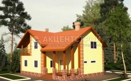 Дом из газобетона 168,3 кв.м.