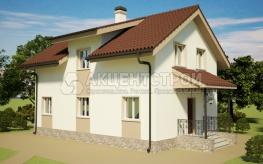 Каркасный дом 154 кв.м.
