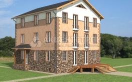 Дом из камня 662,2 кв.м.