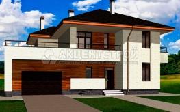 Дом из кирпича 378,5 кв.м.