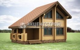 Проект дома из бруса 29