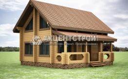 Проект дома из бруса 31