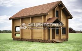 Проект дома из бруса 32