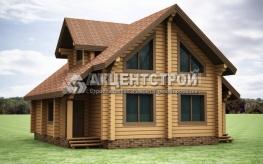 Проект дома из бруса 1