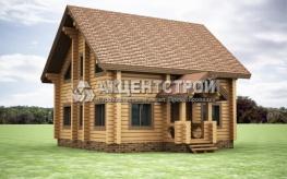 Проект дома из сруба 7