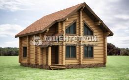 Проект дома из бруса 8