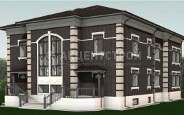 Дом из керамических блоков 446 кв.м.