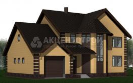 Дом из керамических блоков 175 кв.м.