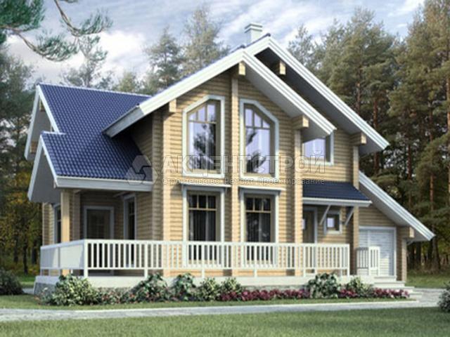 Деревянный дом 150 кв.м.