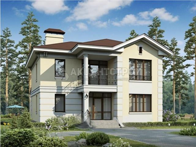 Двухэтажный дом 181 кв.м.