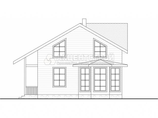 Каркасный дом 174 кв.м.