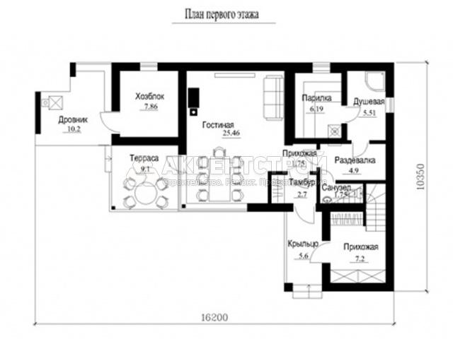 Дом из газобетона 200 кв.м.