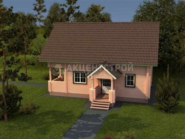 Деревянный дом 154 кв.м.