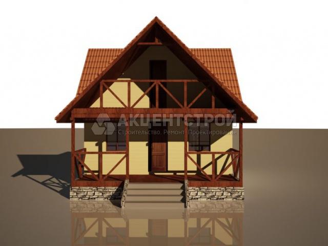 Каркасный дом 80,3 кв.м.