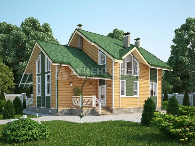 Дом из бруса 170 кв.м.