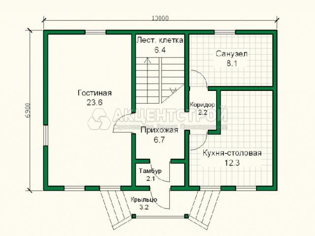 Каркасный дом 141 кв.м.