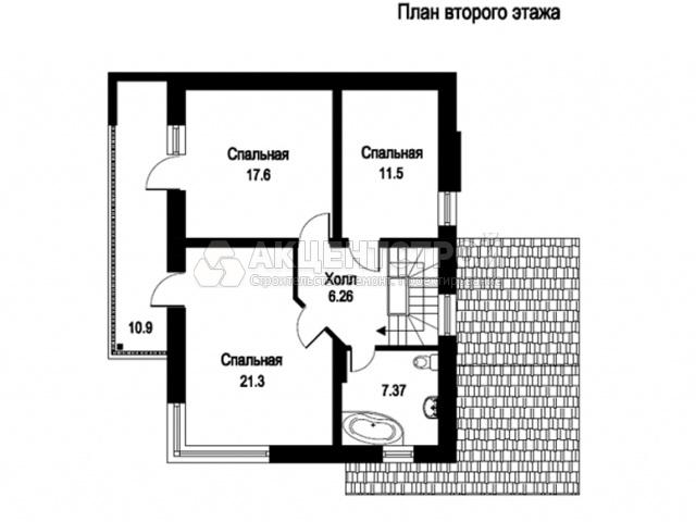 Дом из газобетона 245 кв.м.