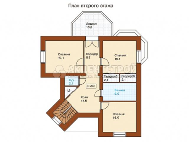 Дом из газобетона 206 кв.м.