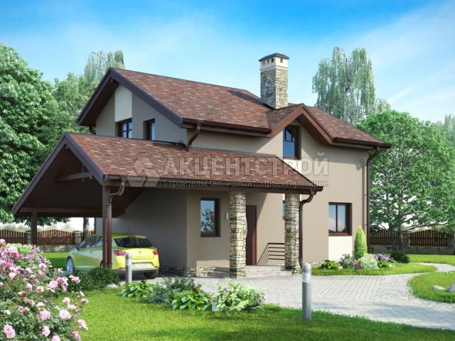 Каркасный дом 140 кв.м.