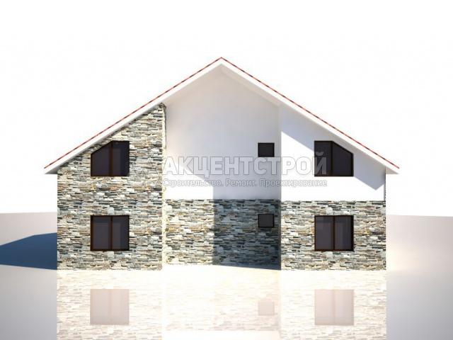 Дом из газобетона 255,9 кв.м.