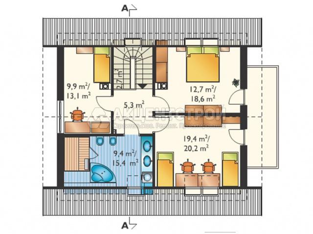 Дом из газобетона 143 кв.м.