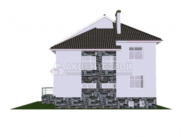 Дом из газобетона 202 кв.м.