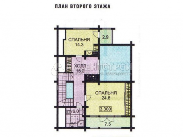 Дом из бруса 300 кв.м.