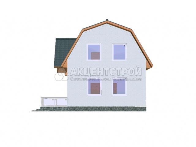 Каркасный дом 96 кв.м.