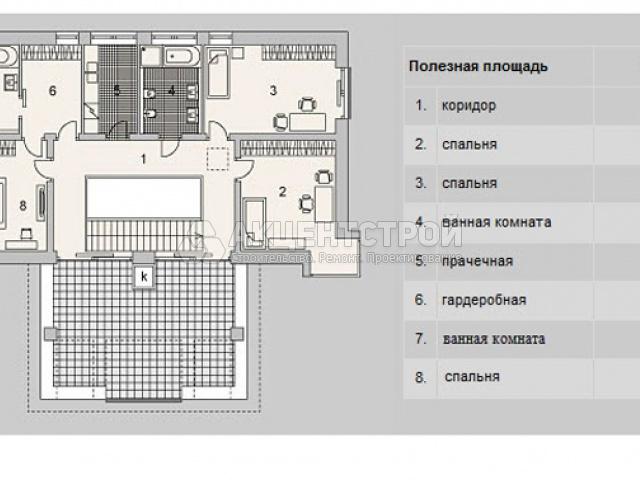 Дом из газобетона 345,4 кв.м.