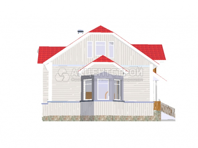 Каркасный дом 199 кв.м.