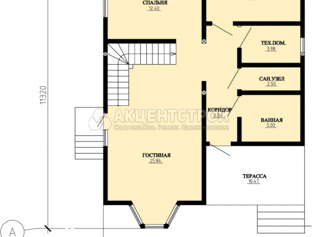 Каркасный дом 180 кв.м.
