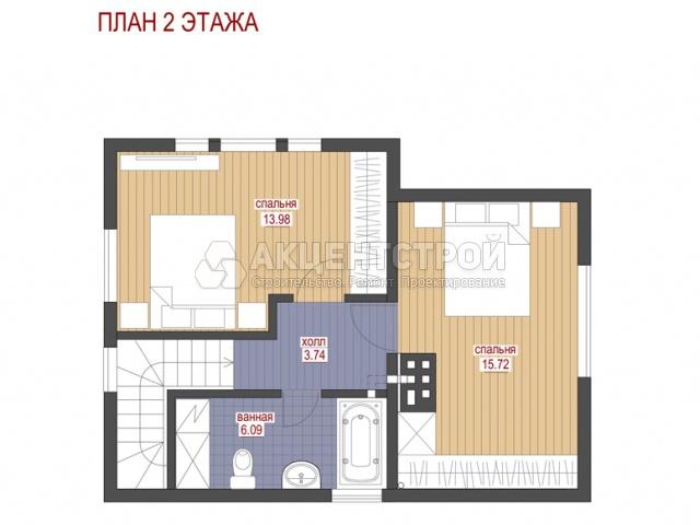 Дом из газобетона 163 кв.м.