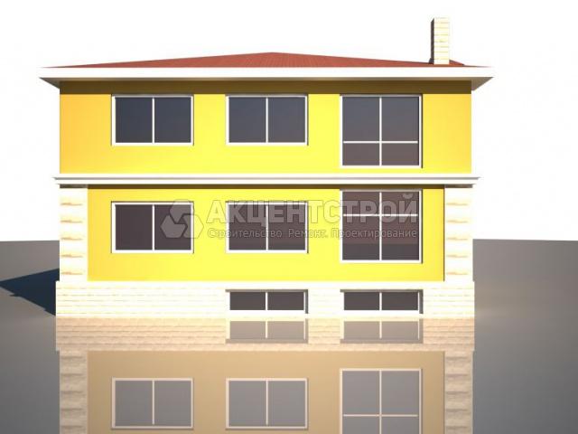 Дом из газобетона 513 кв.м.