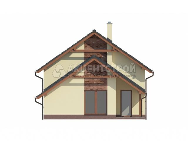 Дом из кирпича 120 кв.м.
