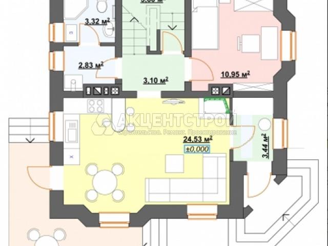 Дом из газобетона 120 кв.м.