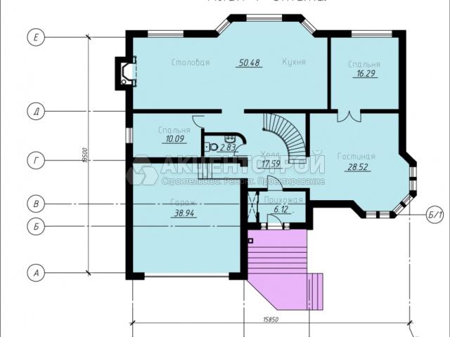 Дом из газобетона 274 кв.м.