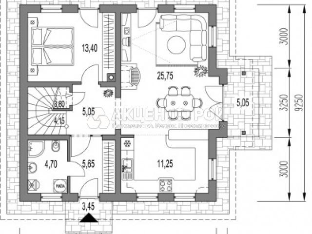 Дом из газобетона 180 кв.м.