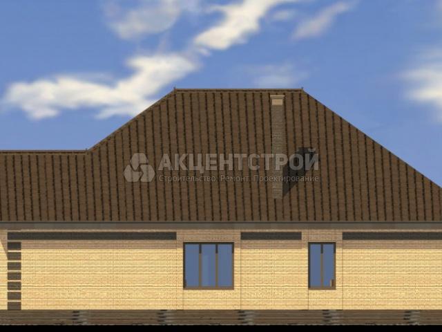 Дом из кирпича 188,52 кв.м.
