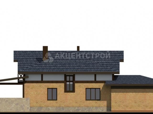 Дом из кирпича 214,15 кв.м.
