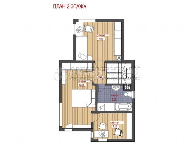Каркасный дом 165 кв.м.