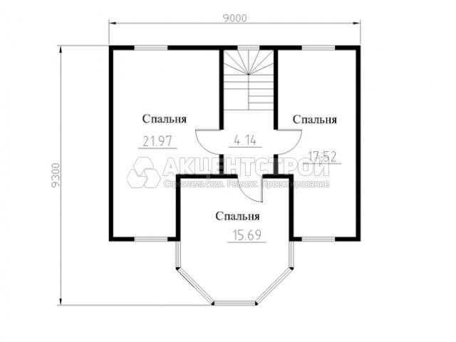 Дом из бруса 140 кв.м.