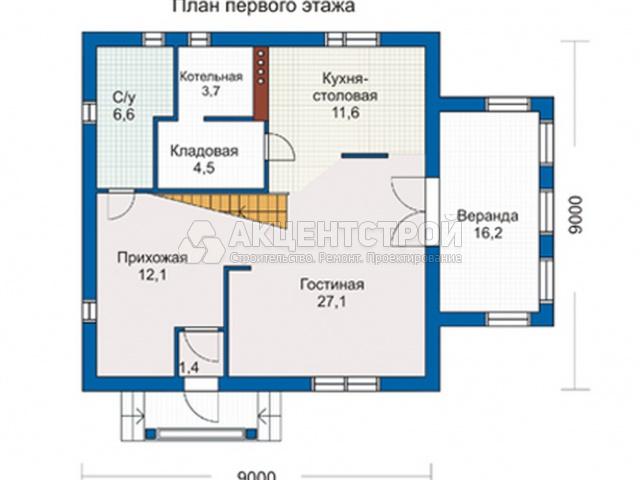 Каркасный дом 194 кв.м.
