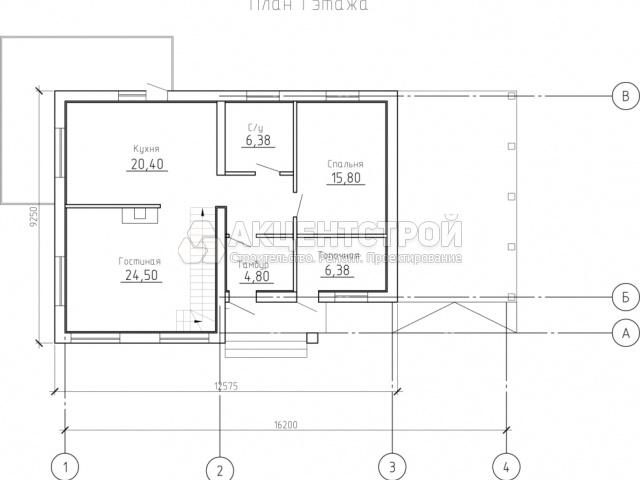 Дом из газобетона 178 кв.м.
