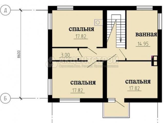 Дом из газобетона 310 кв.м.