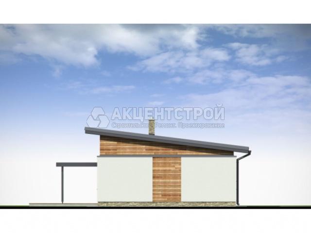 Дом из газобетона 110,5 кв.м.