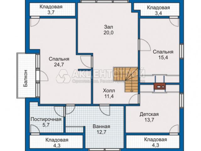 Каркасный дом 230 кв.м.