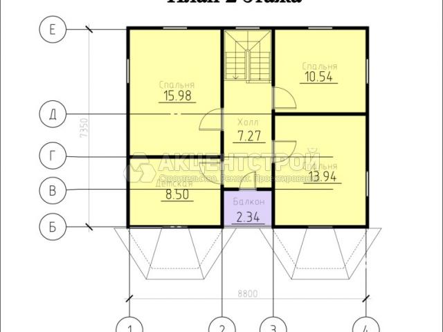 Каркасный дом 131,1 кв.м.
