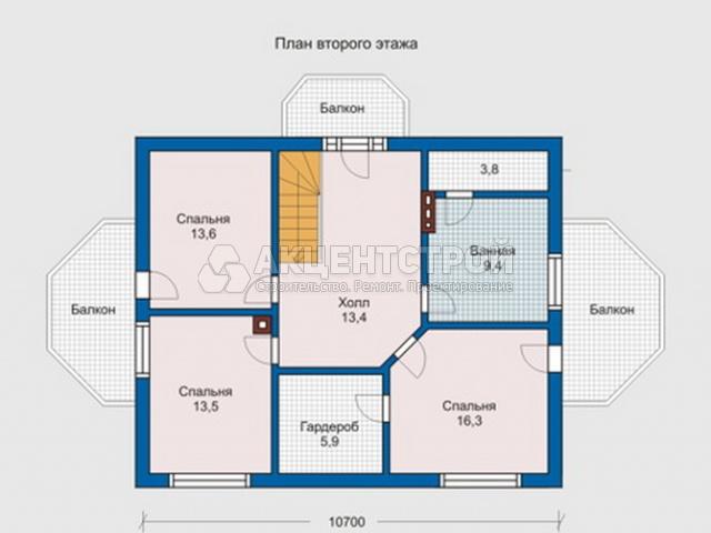 Каркасный дом 165,5 кв.м.