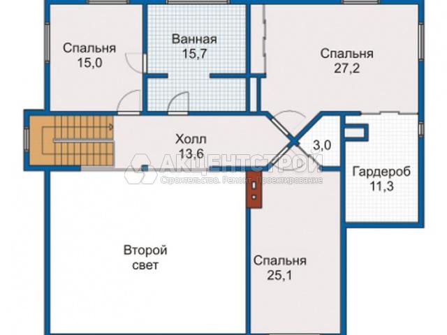 Каркасный дом 278,5 кв.м.